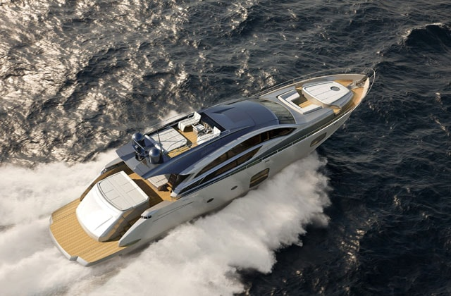 Pershing 82': icona di design all'avanguardia