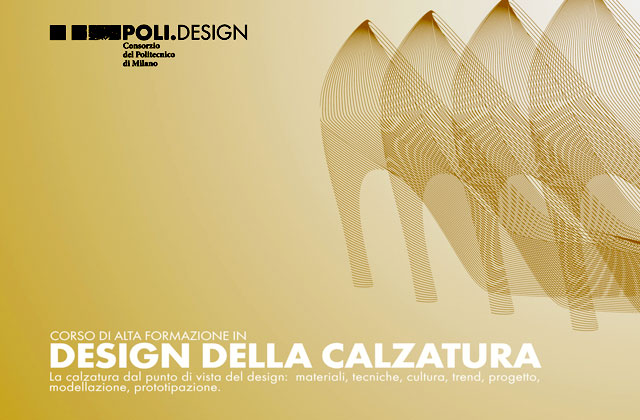 Corso in design della calzatura