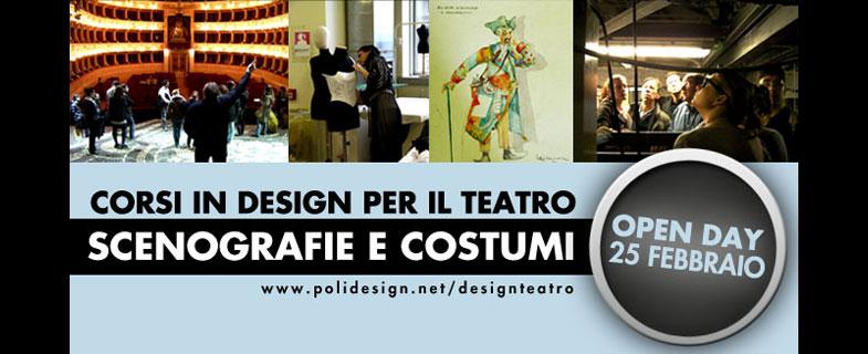 Corsi di alta formazione in Design per il Teatro – Scenografia e Costumi