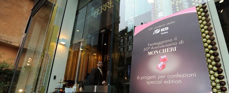 Ferrero e IED per Mon Chéri