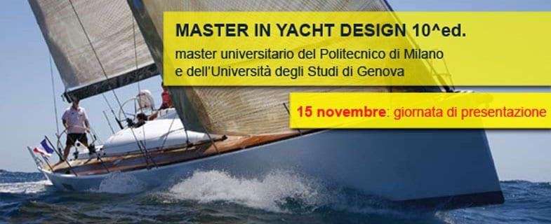 Master in Yacht Design