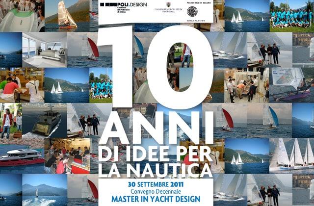 Convegno Decennale Master in Yacht Design