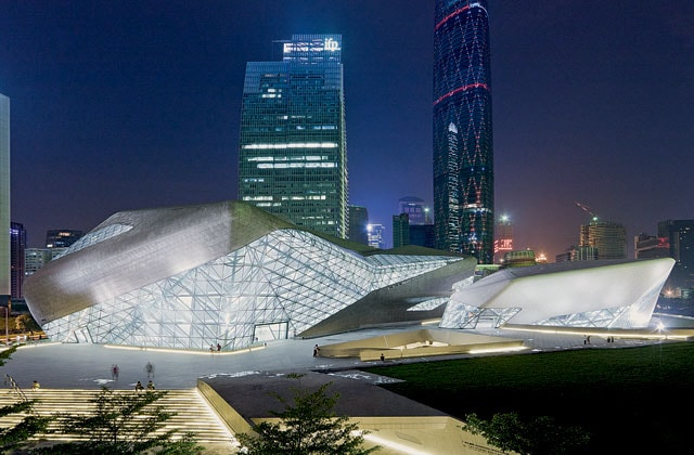 Cina, Guangzhou opera house