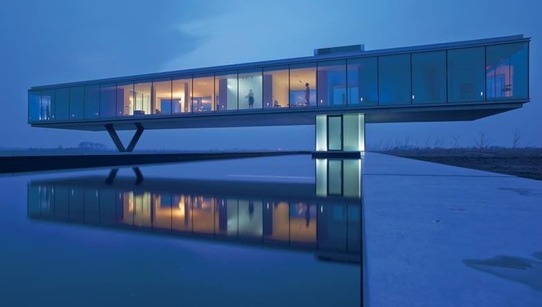 Olanda, bridge house