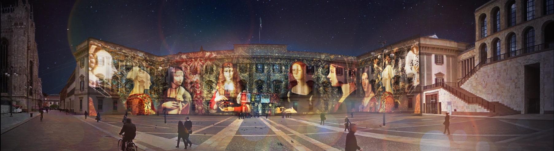 L'ETÀ D'ORO DI MILANO XV| Opera urbana per musica e immagini