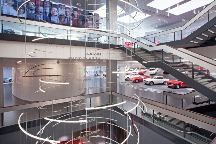 Alfa Romeo: in occasione dell'anteprima mondiale della nuova Giulia, aperto il Museo Storico di Arese