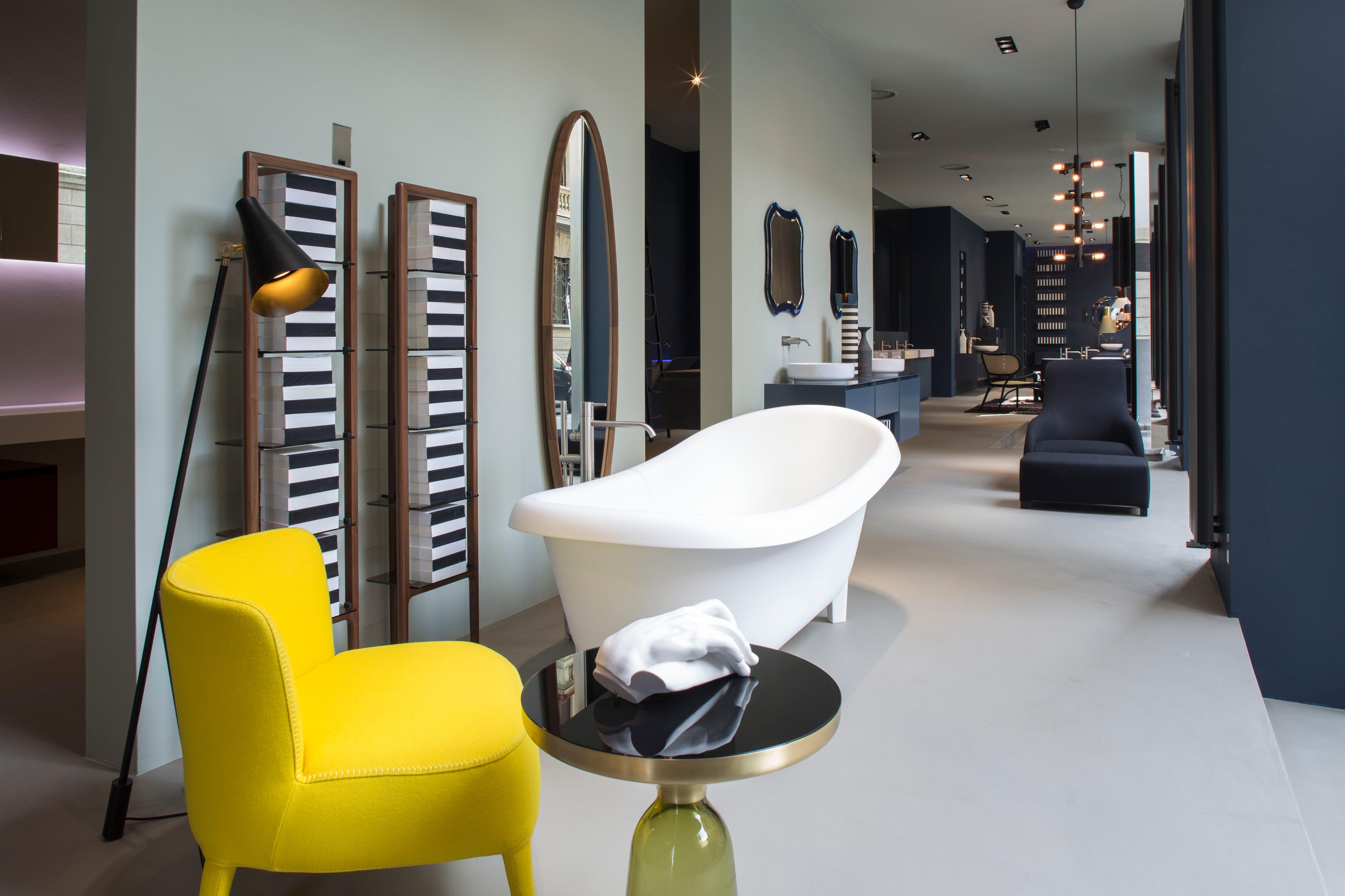 Restyling dello spazio milanese di antoniolupi