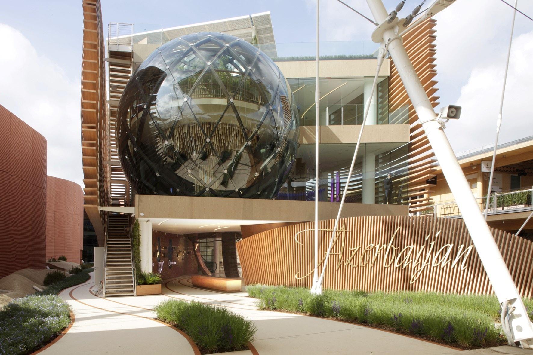 Le sfere del Padiglione Azerbaijan a Expo visitate da 10 mila persone ogni giorno