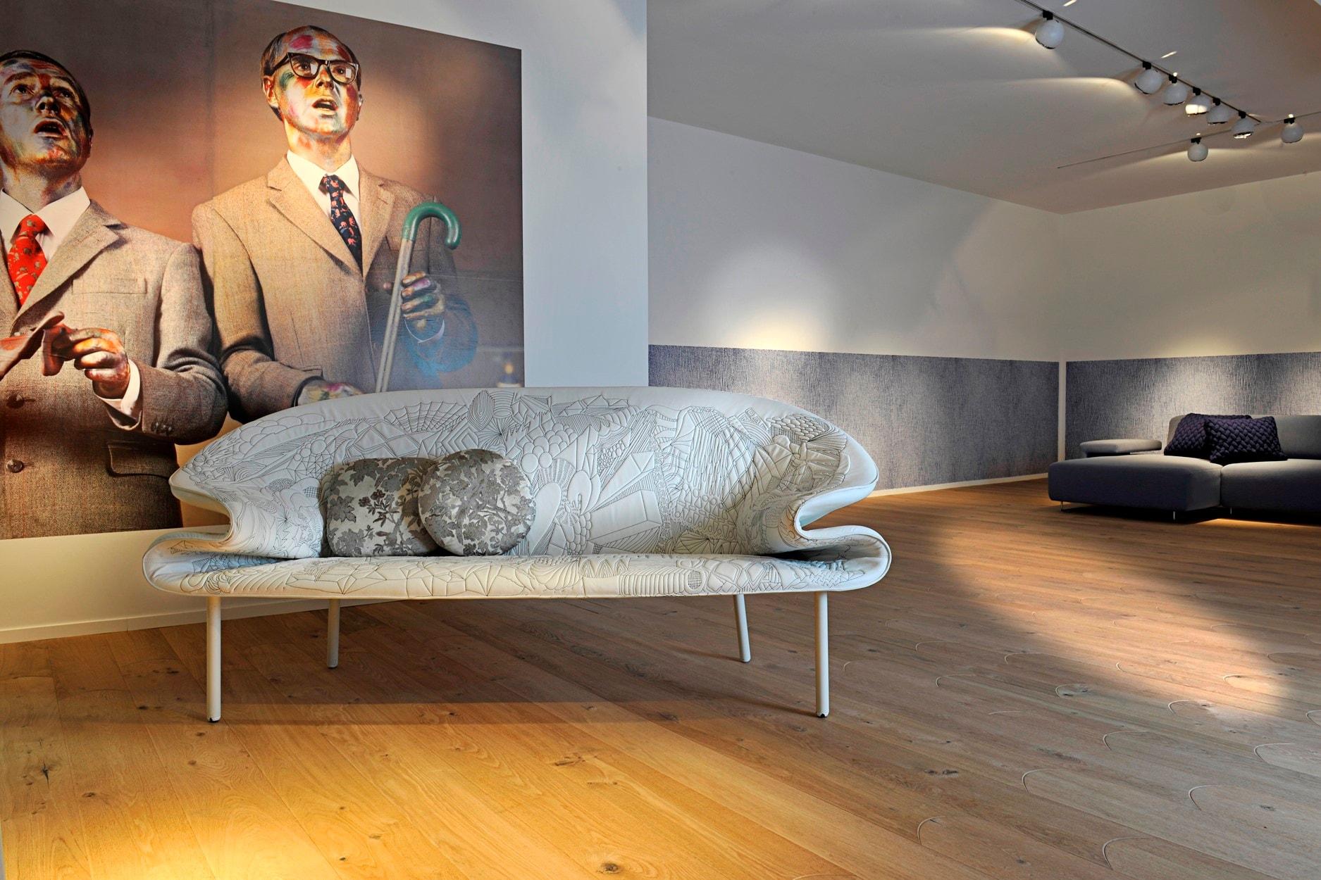 Biscuit la nuova collezione di pavimenti in legno Listone Giordano disegnata da Patricia Urquiola