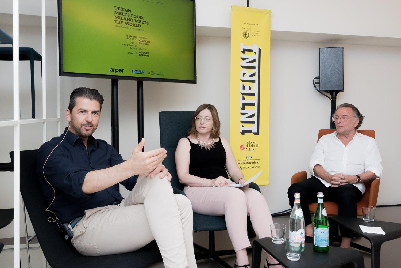 Interni. Design meets Food, Milano Meets the World. Arper, 4 giugno