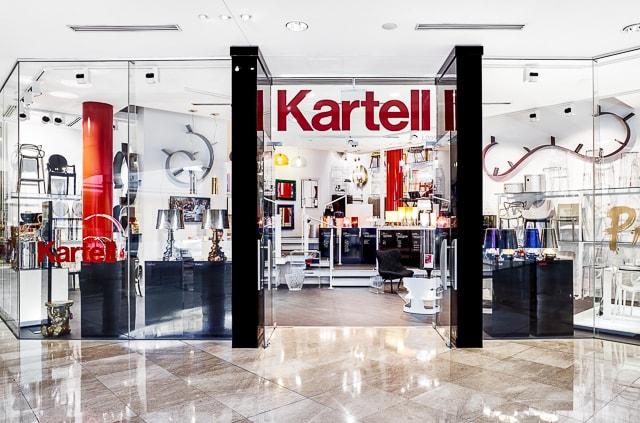 L'espansione di Kartell nel 2015: le nuove aperture di Flagship Store in tutto il mondo