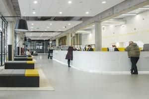 HI-MACS® per la ristrutturazione del municipio di Almere, in Olanda