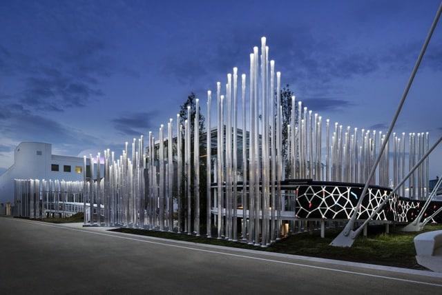 Enel illumina la notte di Expo con il bosco virtuale progettato da Piuarch