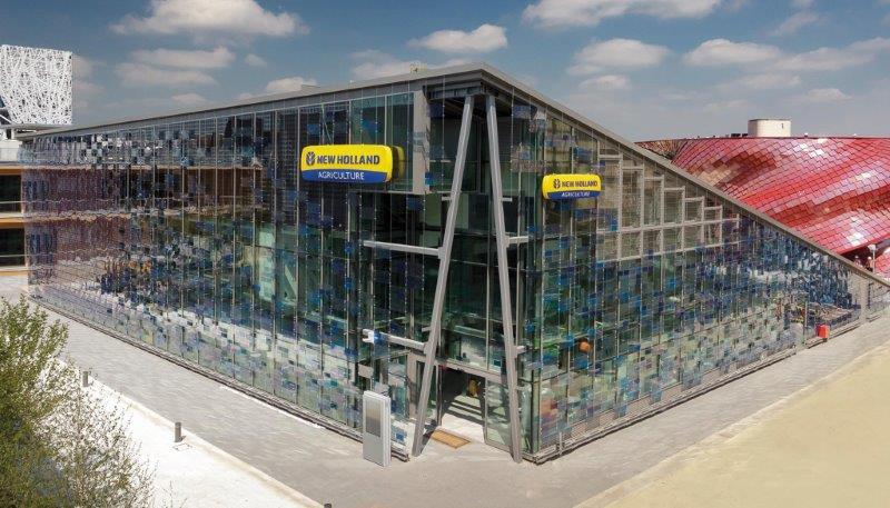 Expo 2015, Resstende per il padiglione New Holland