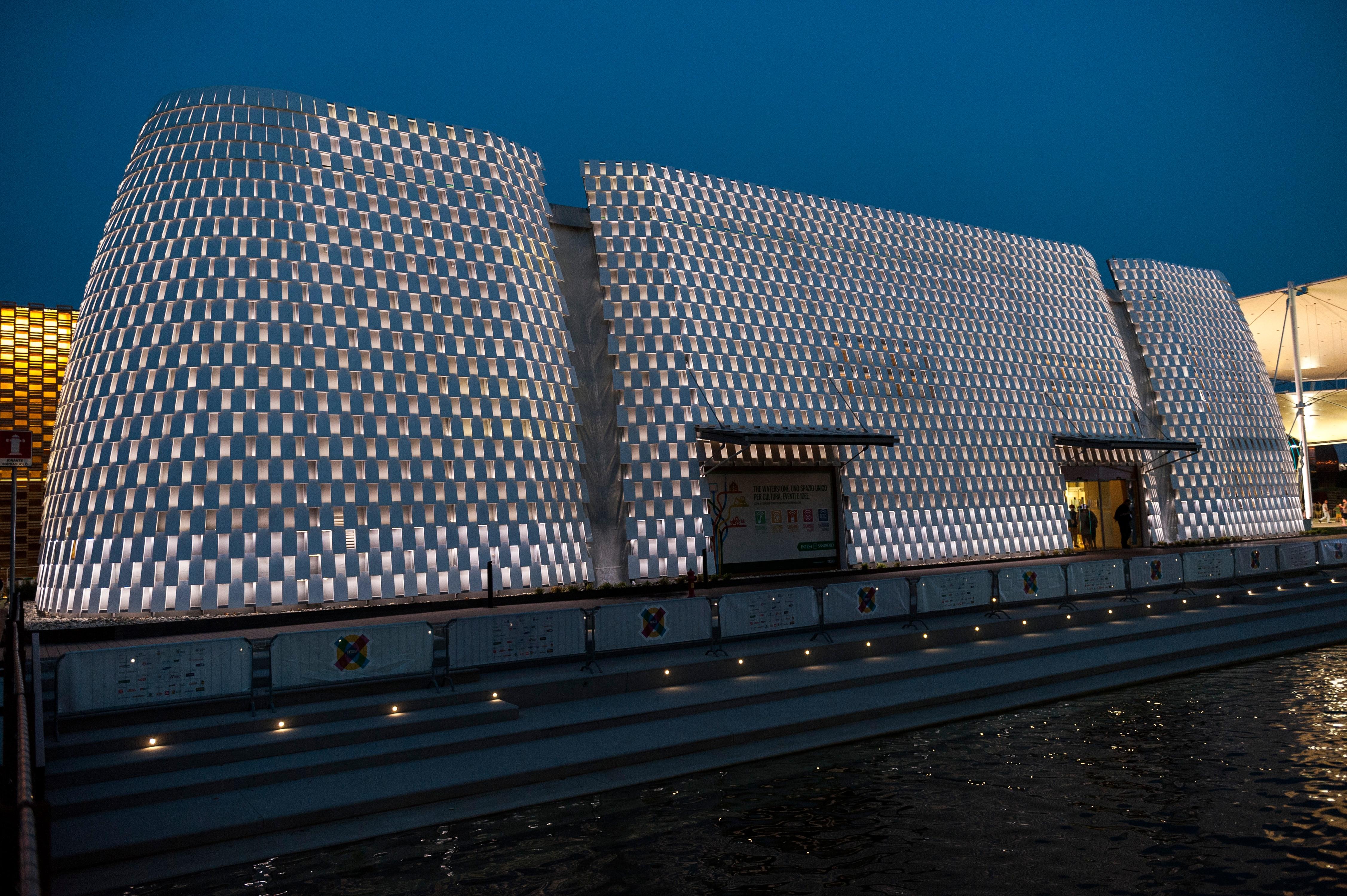 La luce di Artemide illumina i Padiglioni di Expo 2015