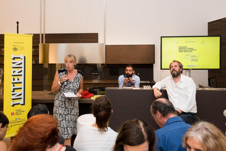 Interni. Design meets Food. Milano meets the World Valcucine, 8 luglio