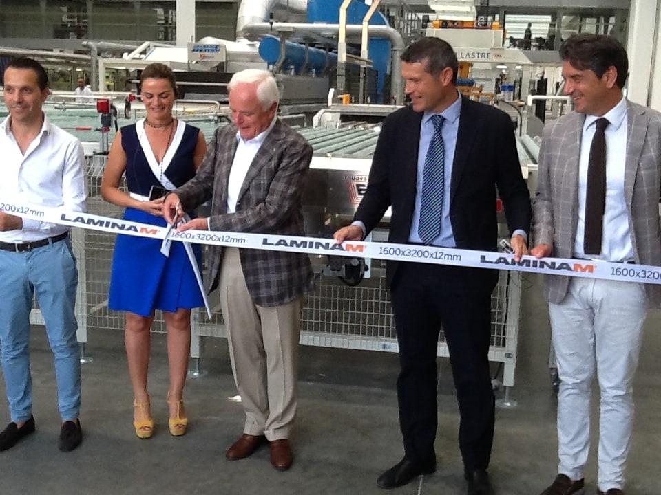 Laminam inaugura la nuova linea di lastre Extra Large