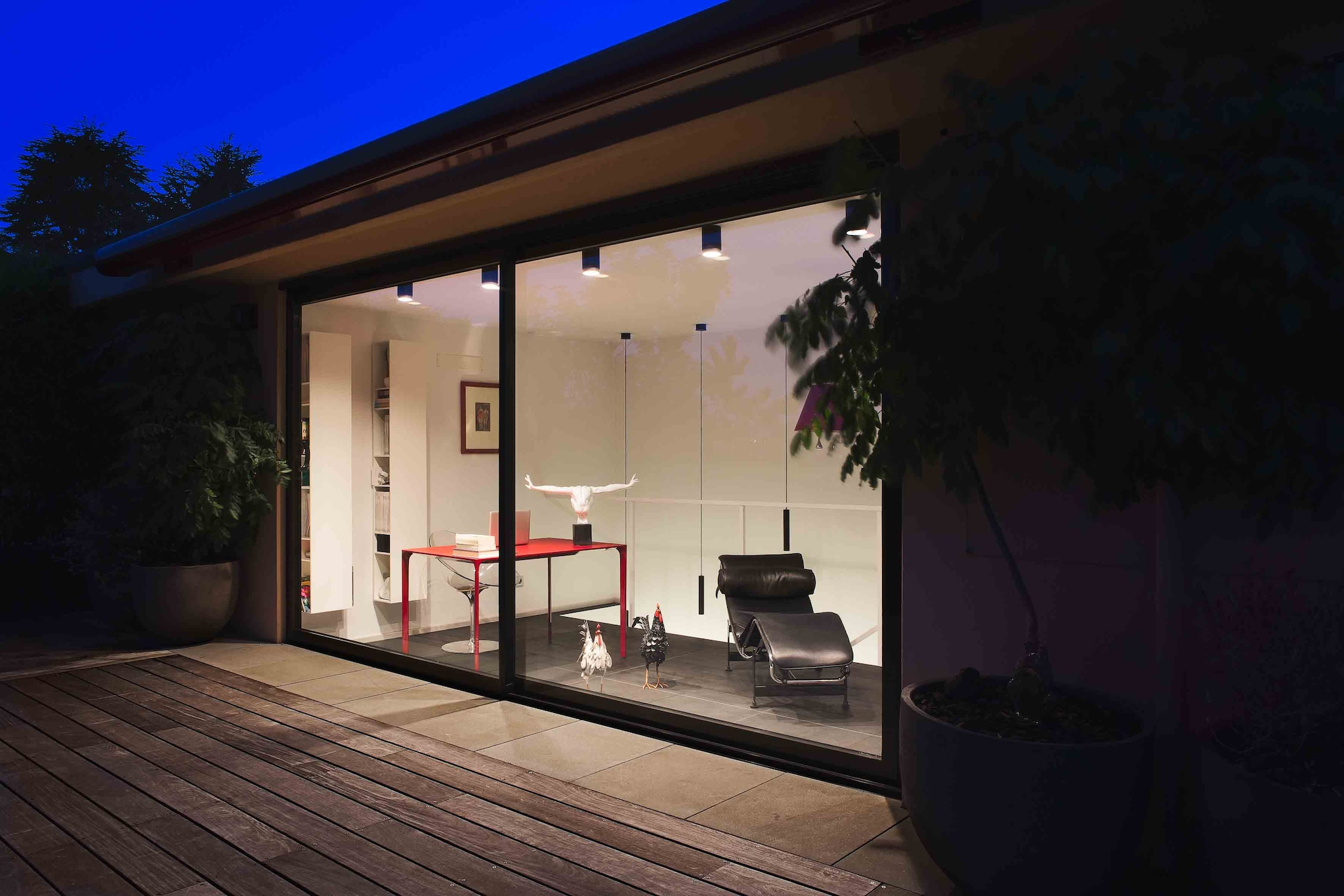 La portafinestra alza e scorri di Essenza per un prestigioso progetto residenziale a Bologna