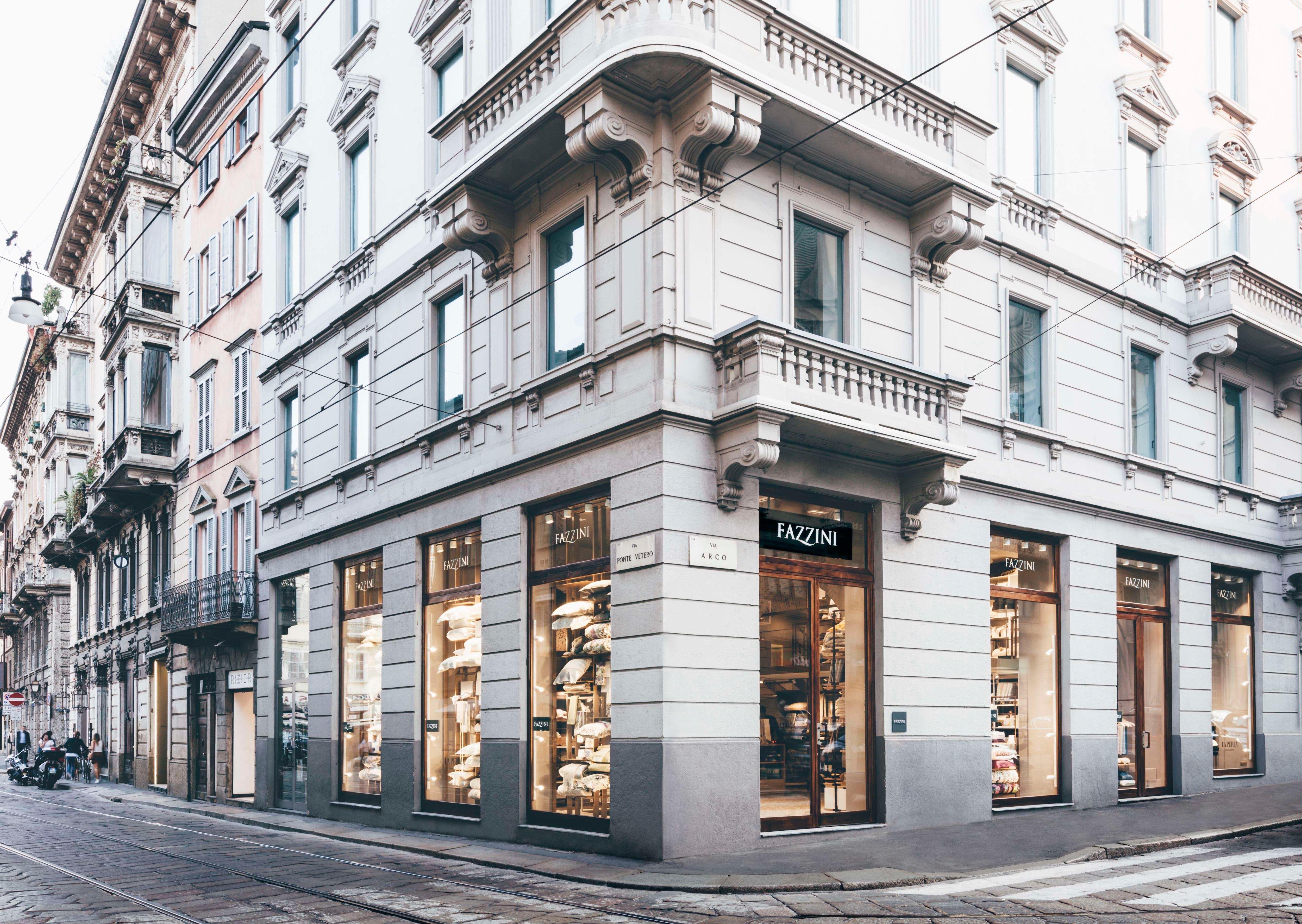 Fazzini: il primo flagship store a Milano