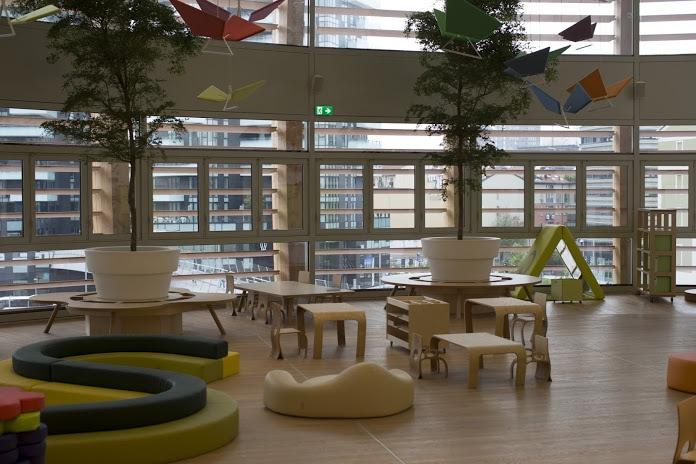 In UniCredit Pavilion germoglia Mini Tree