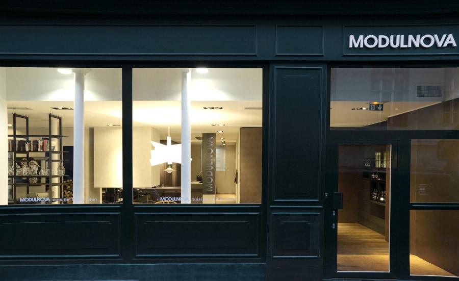 Apre il secondo showroom Modulnova a Parigi