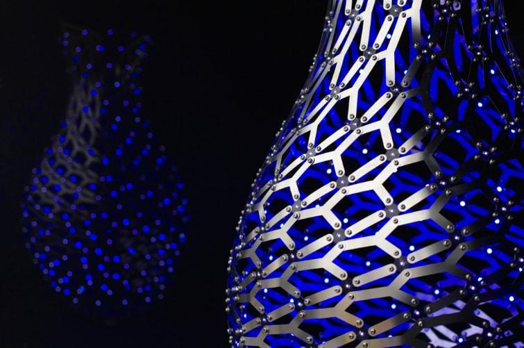 I vasi luminosi Ming di Moritz Waldemeyer a Decorex 2015