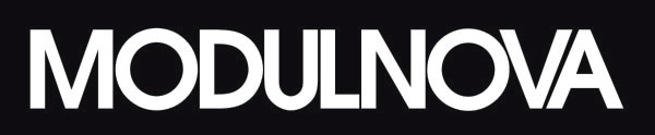 logo MODULNOVA bianco su fondo nero -01