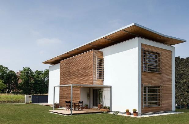 Vivere in una casa in legno in Classe Casa Clima A+