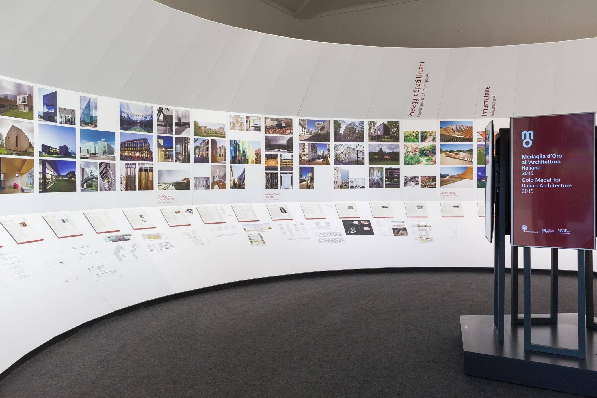 Medaglia d'Oro all'Architettura 2015 a Massimo Carmassi