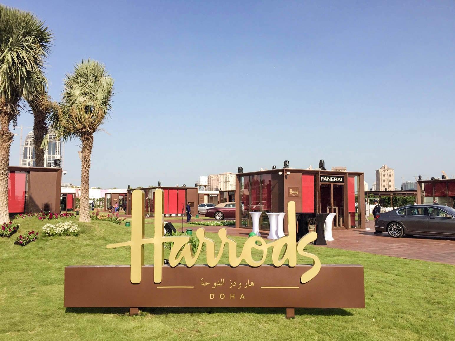 Harrods Village al Katara Cultural Village di Doha in Qatar