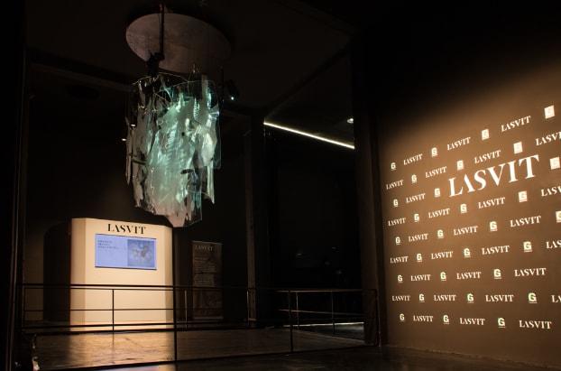 Lasvit al Museo del Vetro di Shanghai