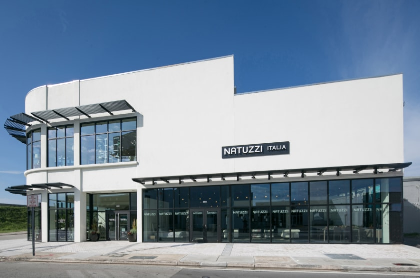 Natuzzi nel Miami Design District