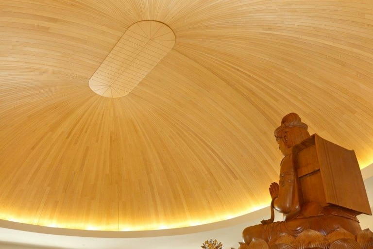 Il tempio buddista di Tsi Ming ad Auckland