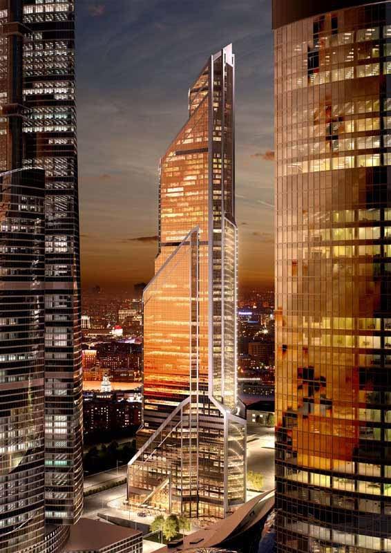 Made in Italy per la Mercury City Tower di Mosca
