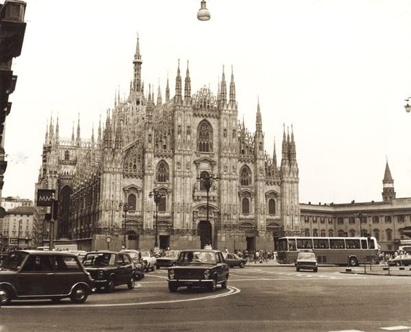3 scatti x 100 anni: Milano, allora, ieri e oggi