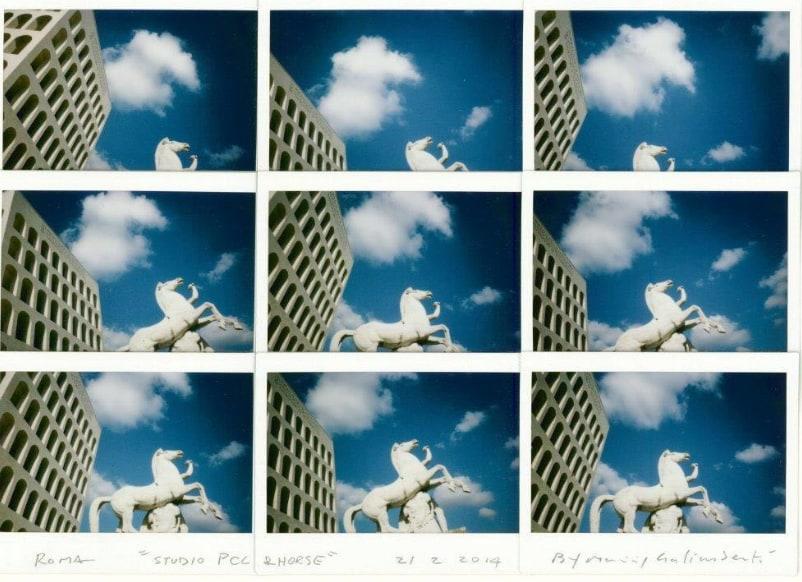 Mythographie Polaroid by Maurizio Galimberti