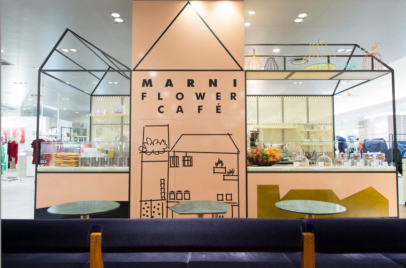 Il primo Marni Flower Café