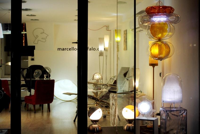 Creazioni luminose a Milano
