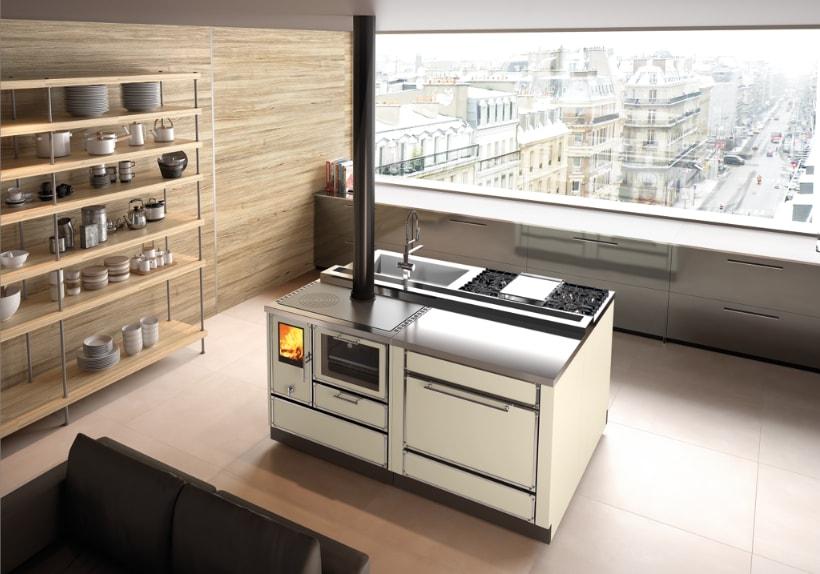 Edilkamin lancia la collezione Kitchen Kamin