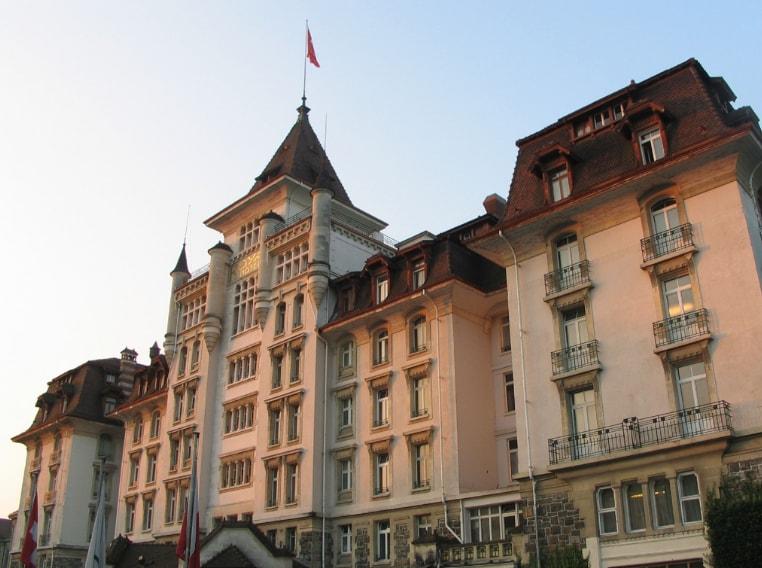 Relax regale all'Hotel Royal Savoy a Losanna