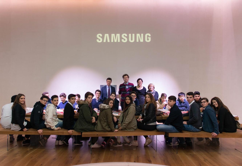 Con Samsung Smart Thinking, la classe è a misura di studente