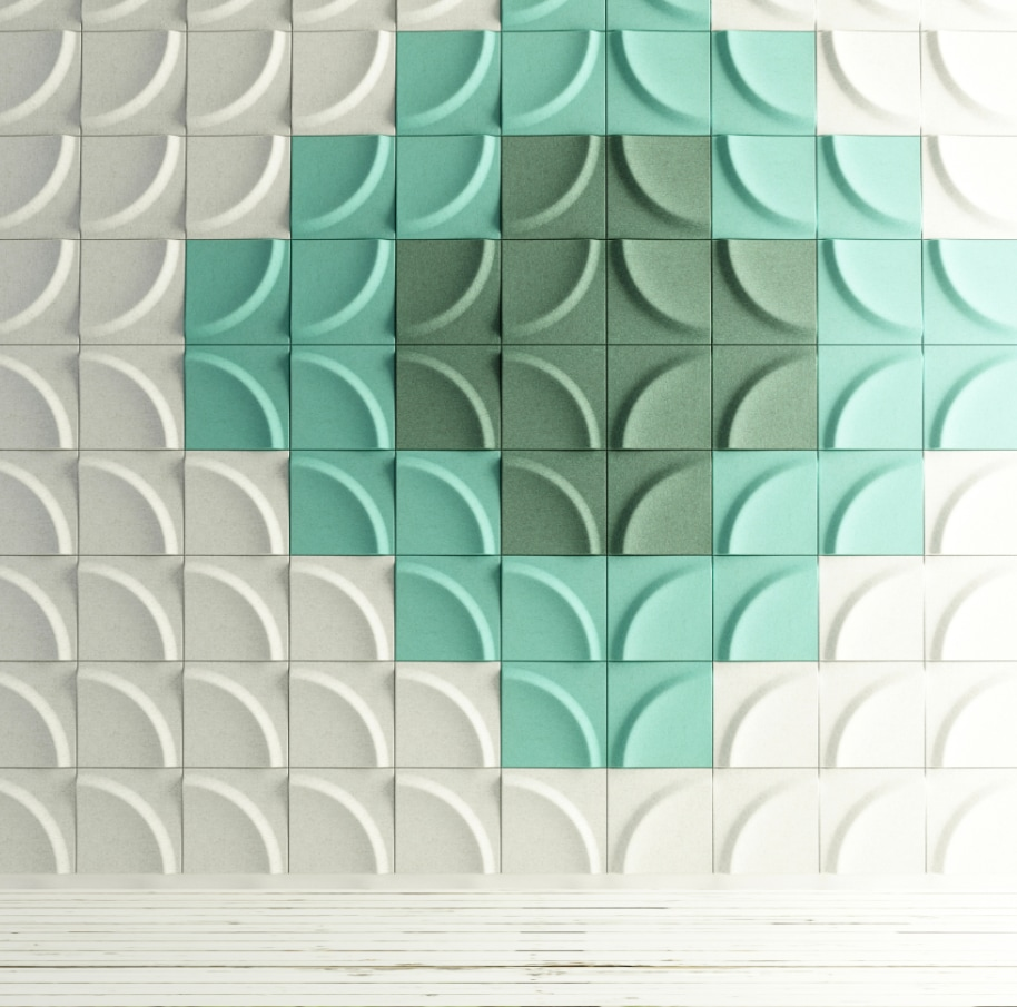 Sound absorber/Wall decoration
