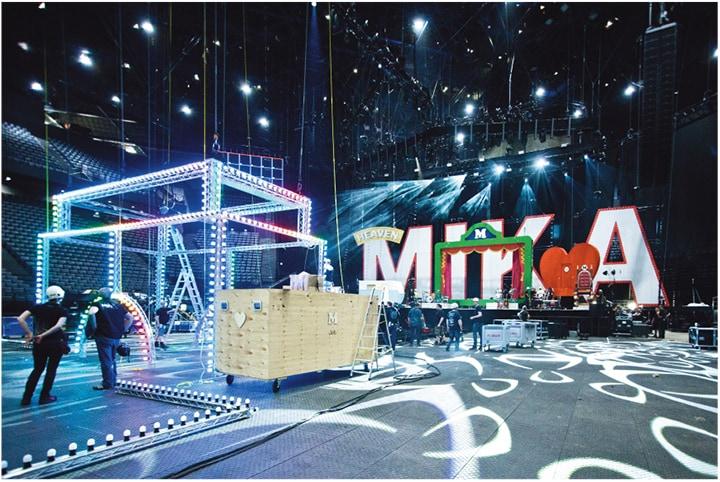Studio Job per il Tour Live Show di Mika