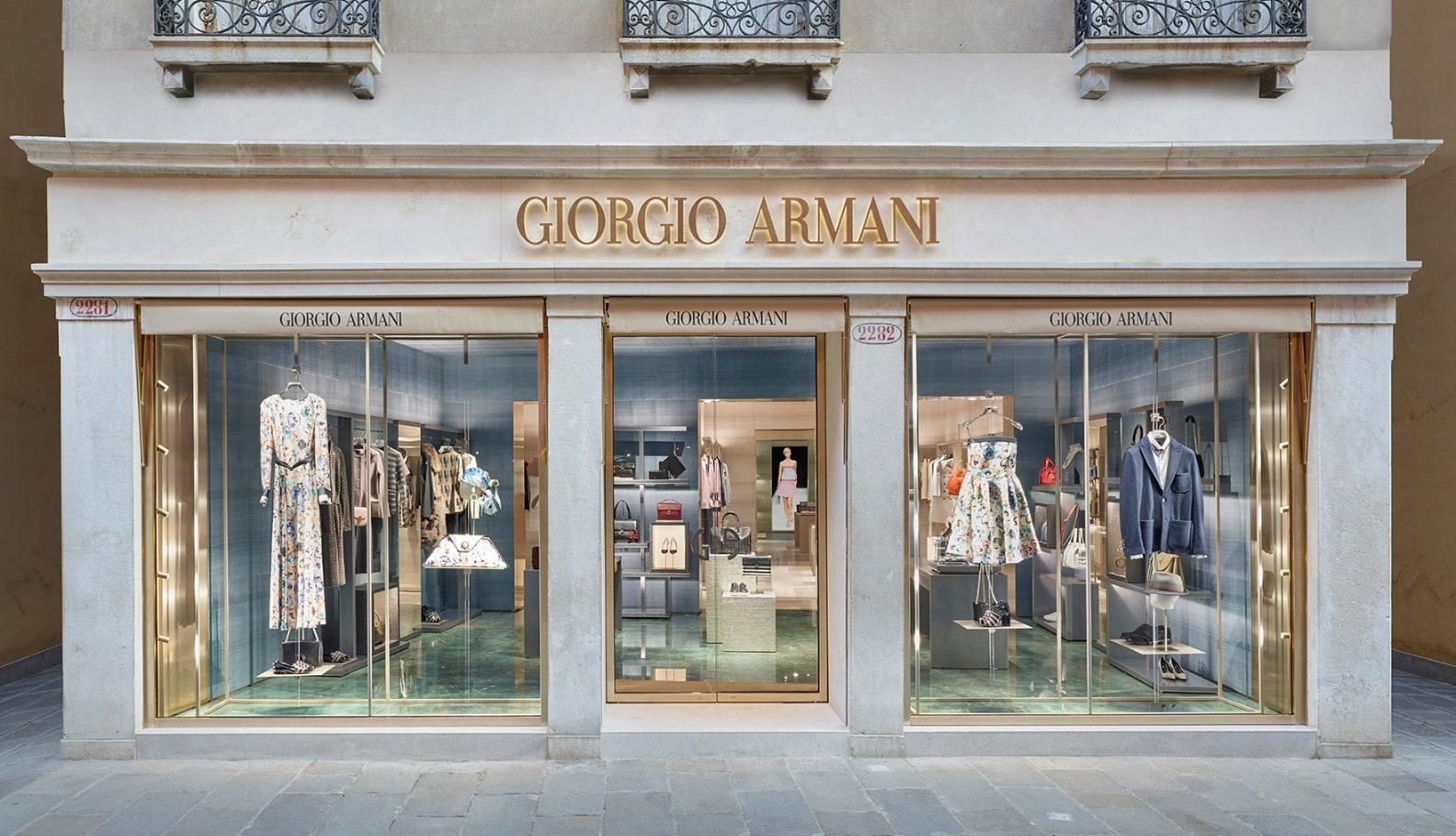 Giorgio Armani a Venezia