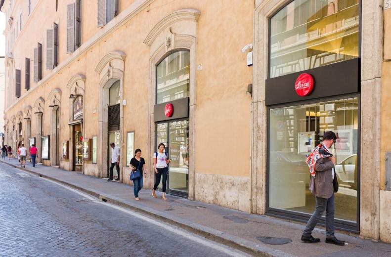 Leica Store a Roma