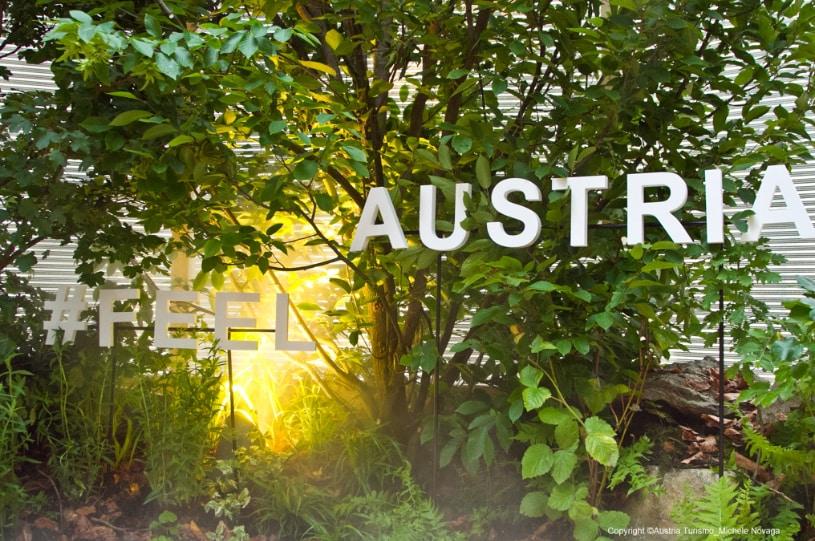 Austria Turismo: inaugurato a Milano, il Bosco Culturale Itinerante
