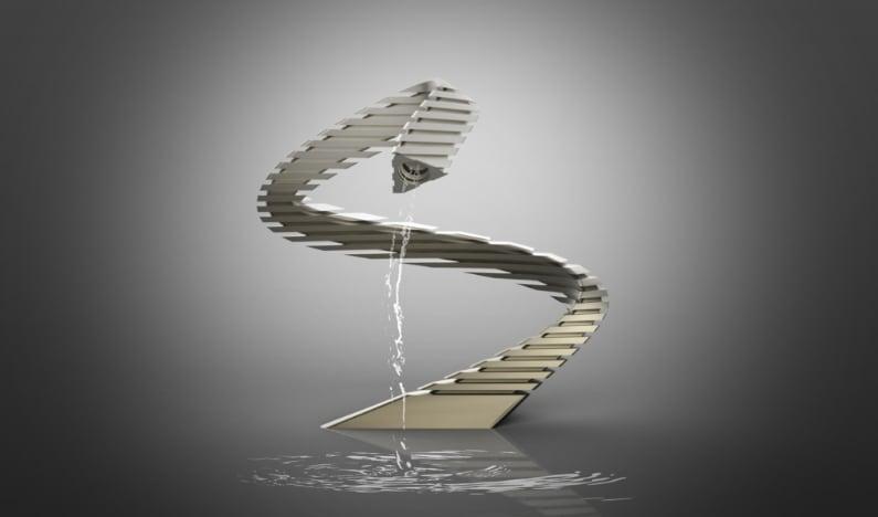 Le sculture d'acqua di Giacomini Design alla Triennale di Milano