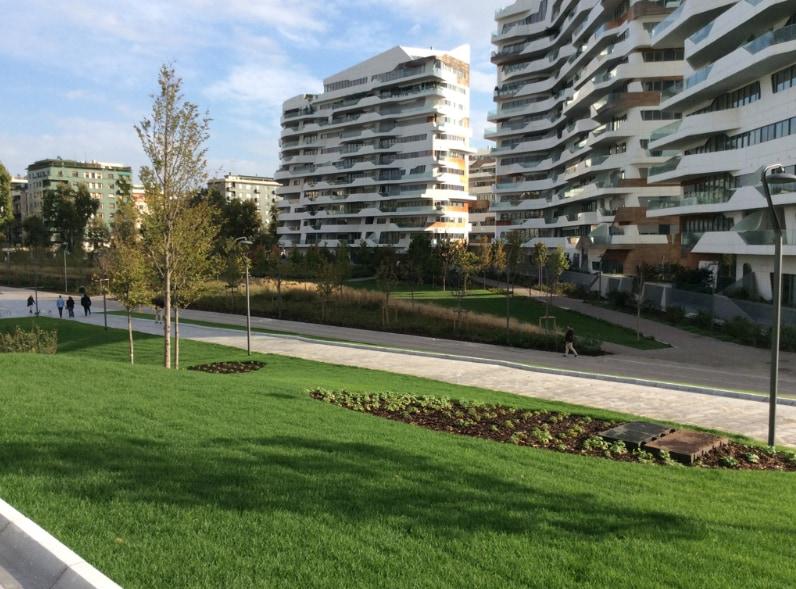 Drenaggio innovativo per CityLife Milano