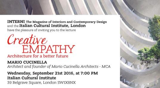 Creative Empathy. Architecture for a better future