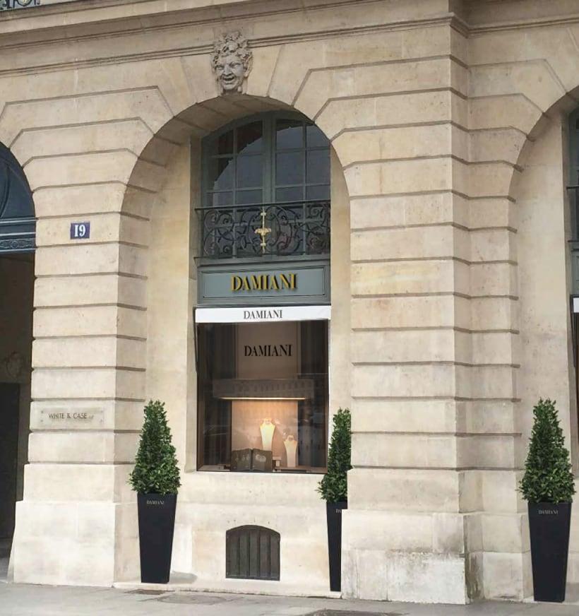 Damiani a Parigi